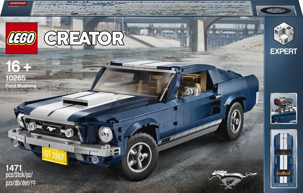 10265 LEGO® Creator Expert Ford Mustang GT