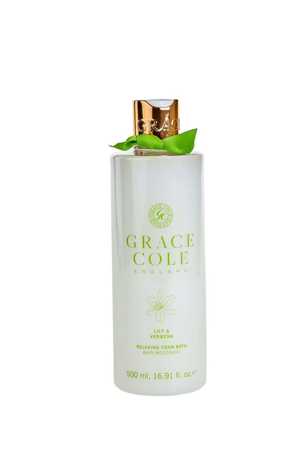 Vonios putos Grace Cole Lily & Verbena 500 ml