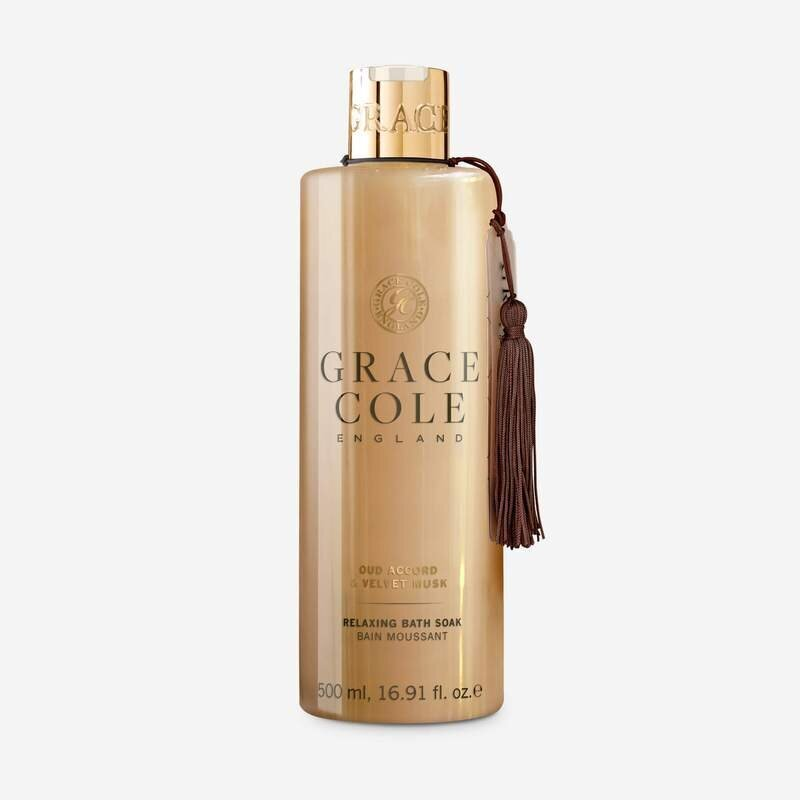 Vonios putos Grace Cole Oud Accord & Velvet Musk 500 ml
