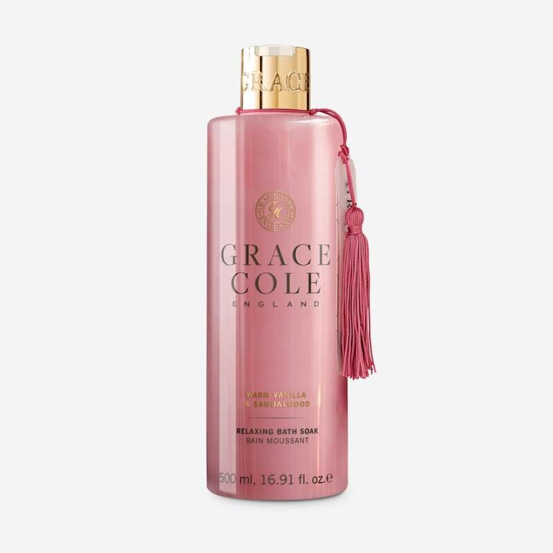 Vonios putos Grace Cole Warm Vanilla & Sandalwood 500 ml