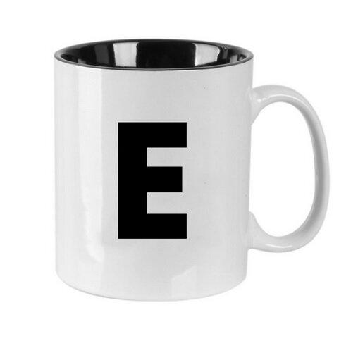 Puodelis raidė E