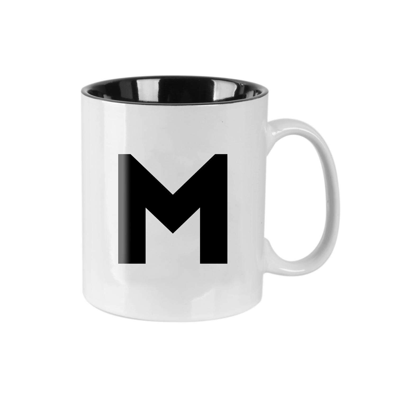 Puodelis raidė M