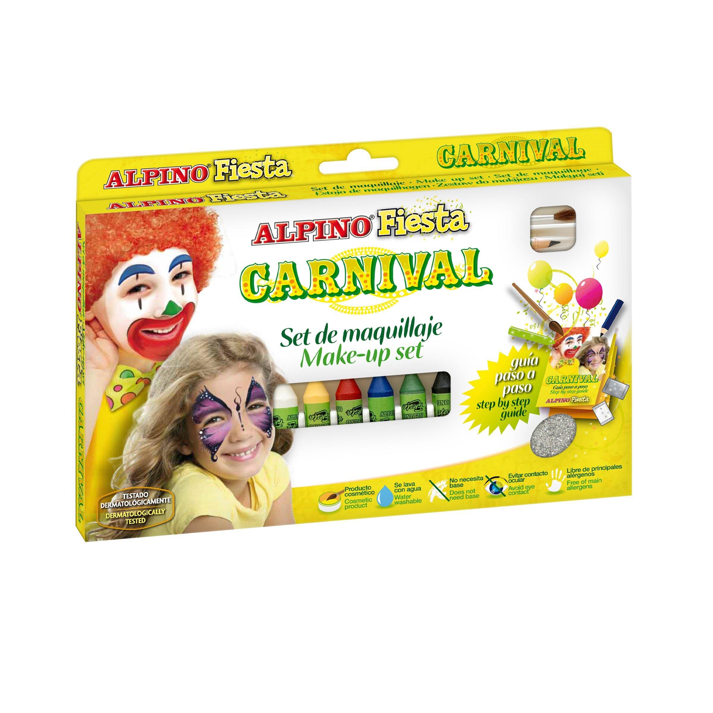 Grimo rinkinys Carnival ALPINO, 6 vnt
