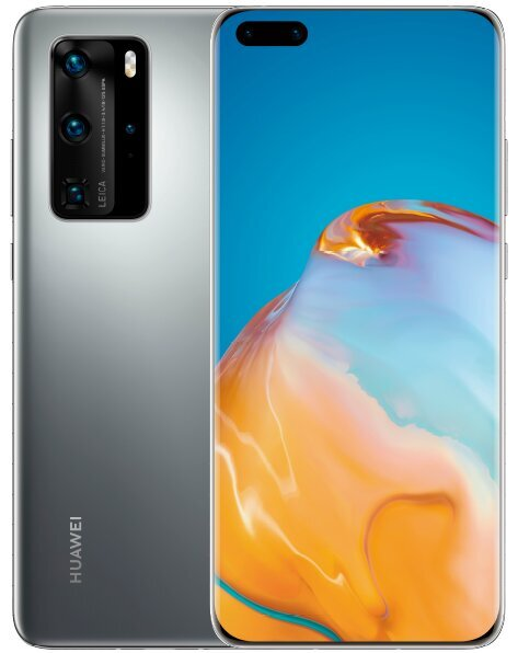 Huawei P40, 8/128GB, Silver Frost