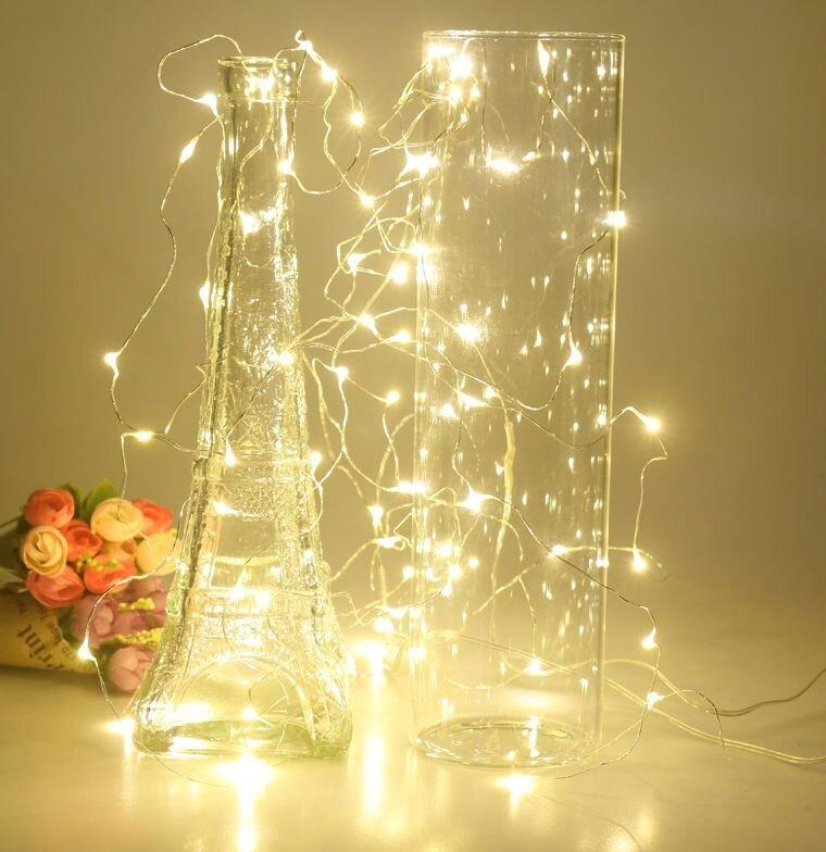 Lanksti kalėdinė girlianda, 25 LED