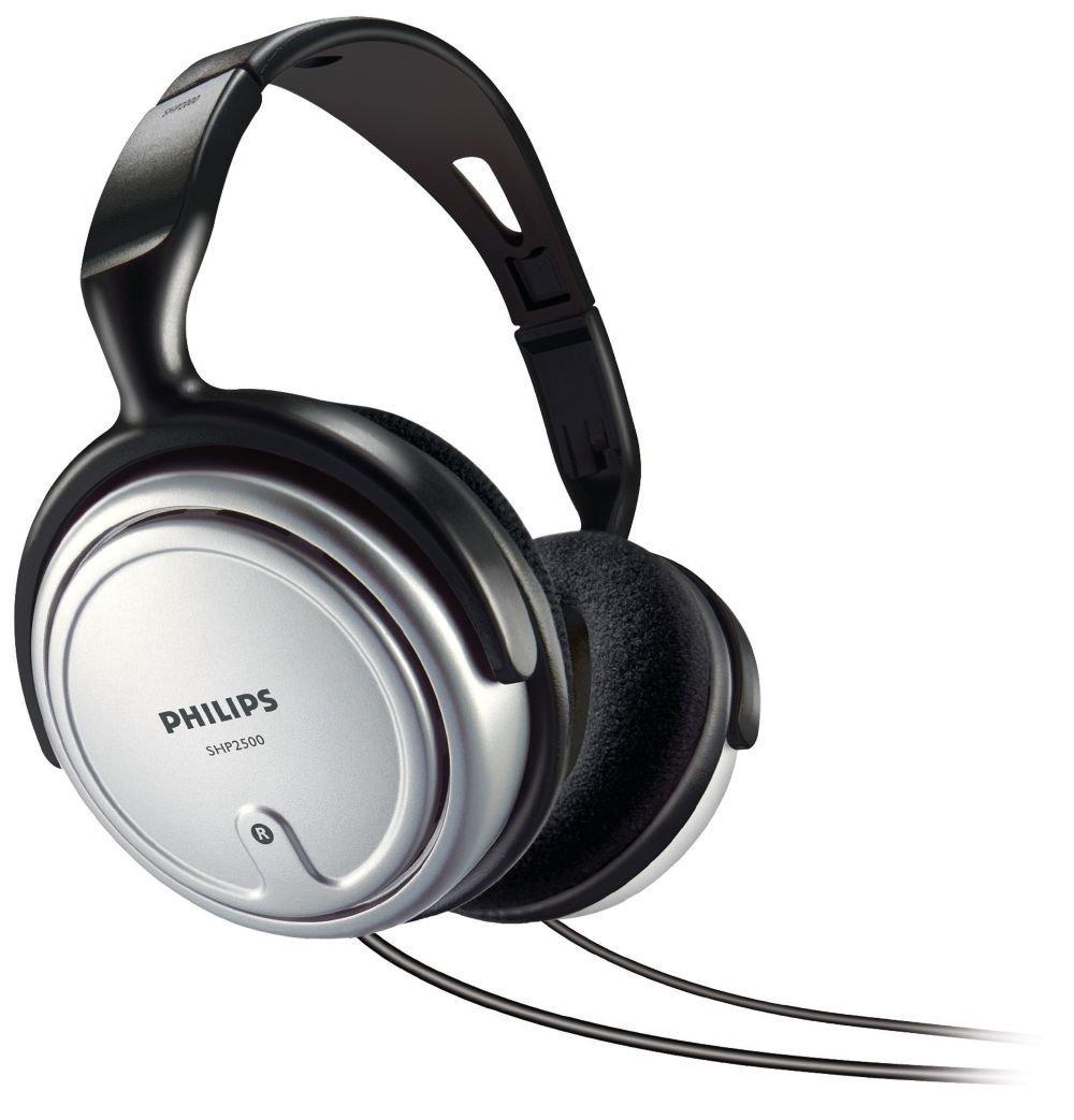 Ausinės Philips SHP2500, Sidabrinės