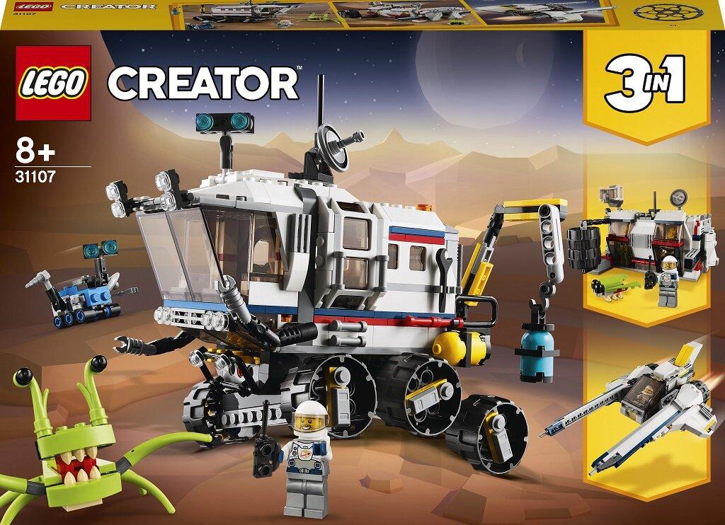 31107 LEGO® Creator Kosminių tyrinėjimų visureigis