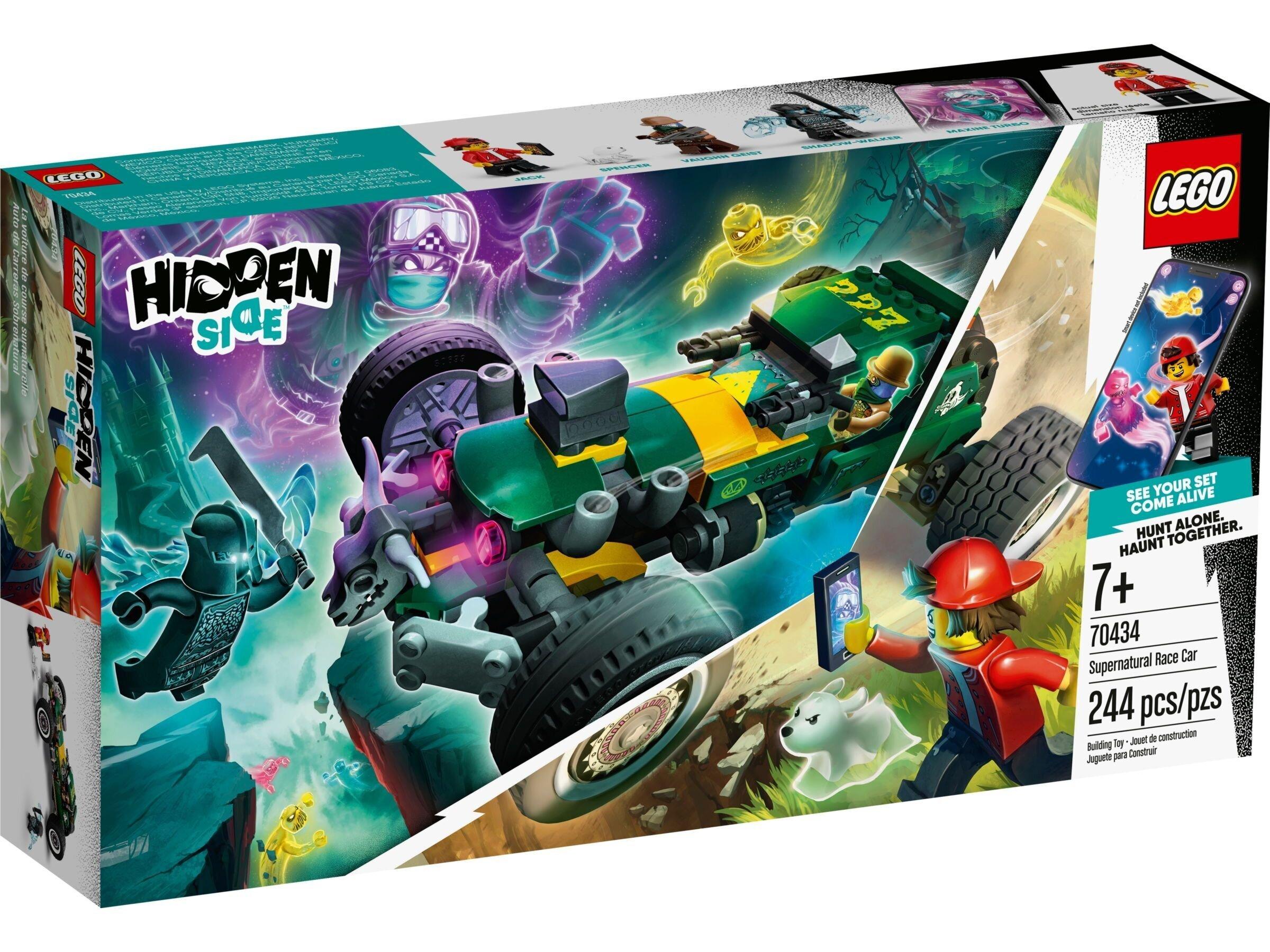 70434 LEGO® Hidden Side™ Antgamtinis lenktynių automobilis