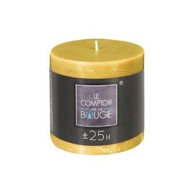 Cilindrinė žvakė, geltona, 6.7 x 7cm