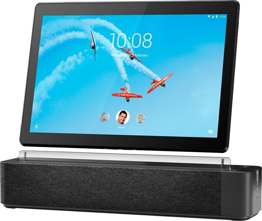 Lenovo TAB M10 (X605F) 10.1 16GB Wifi, Juoda + Smart Dock