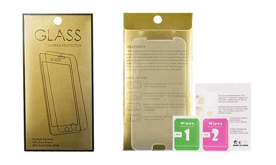 Tempered Glass Gold Mobile Phone Screen Protector Samsung A415 Galaxy A41