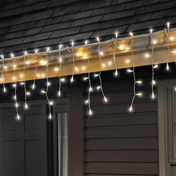 Kalėdinė girlianda Varvekliai, 100 LED