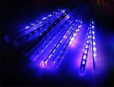 Kalėdinė girlianda Meteorų lietus, 8 LED