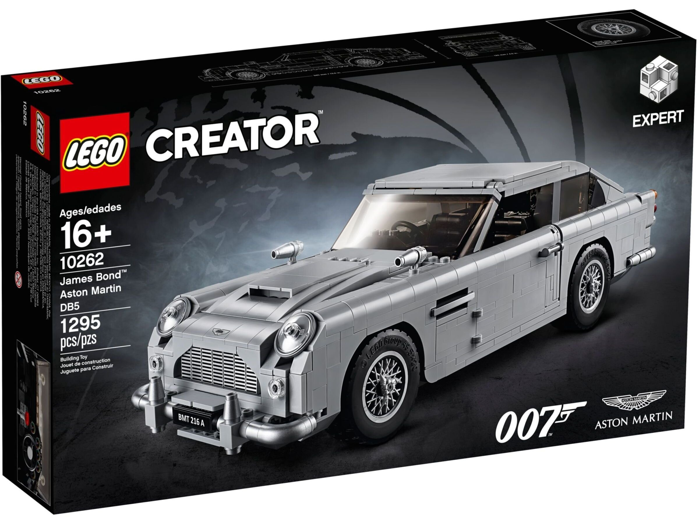 10262 LEGO® Creator Expert James Bond™ Aston Martin DB5