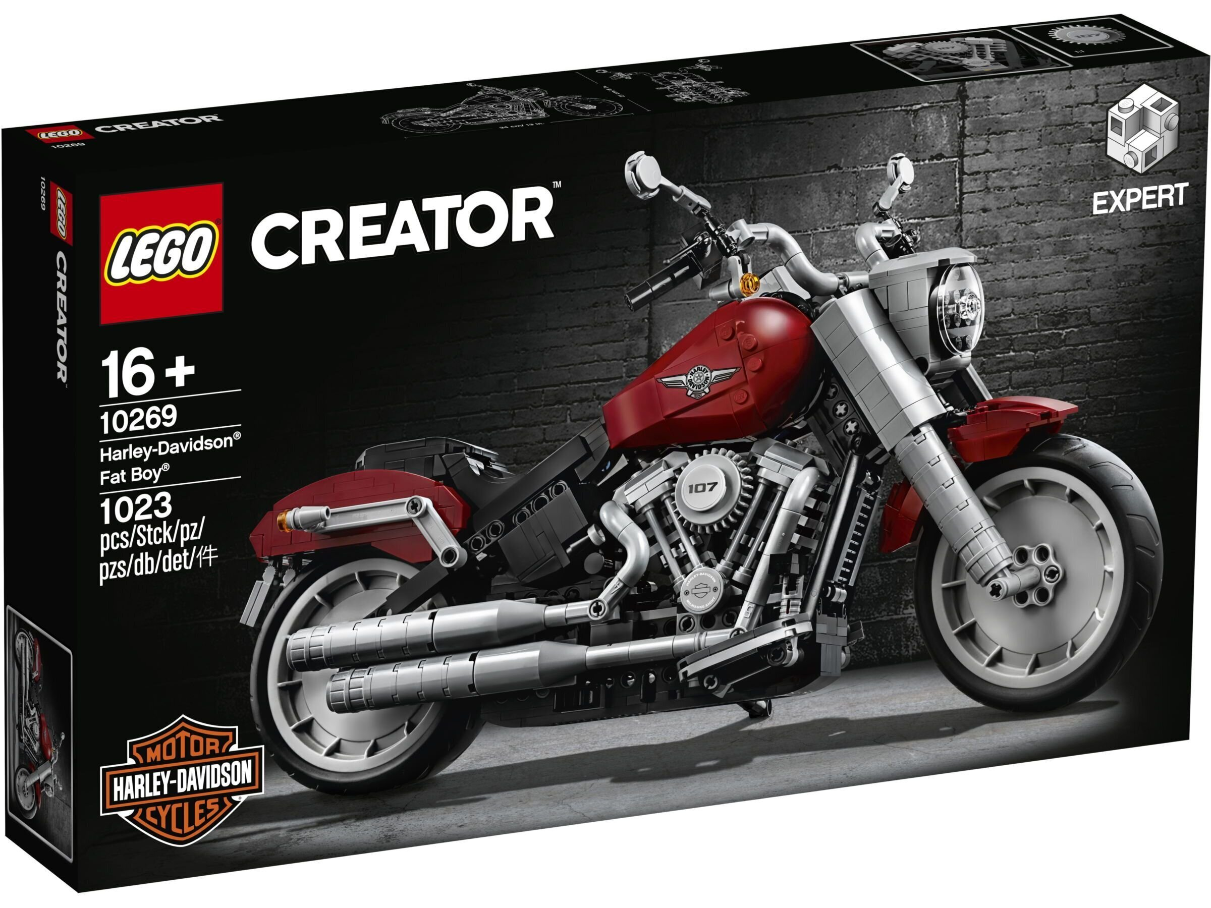 10269 LEGO® Creator Expert Harley-Davidson® Fat Boy®
