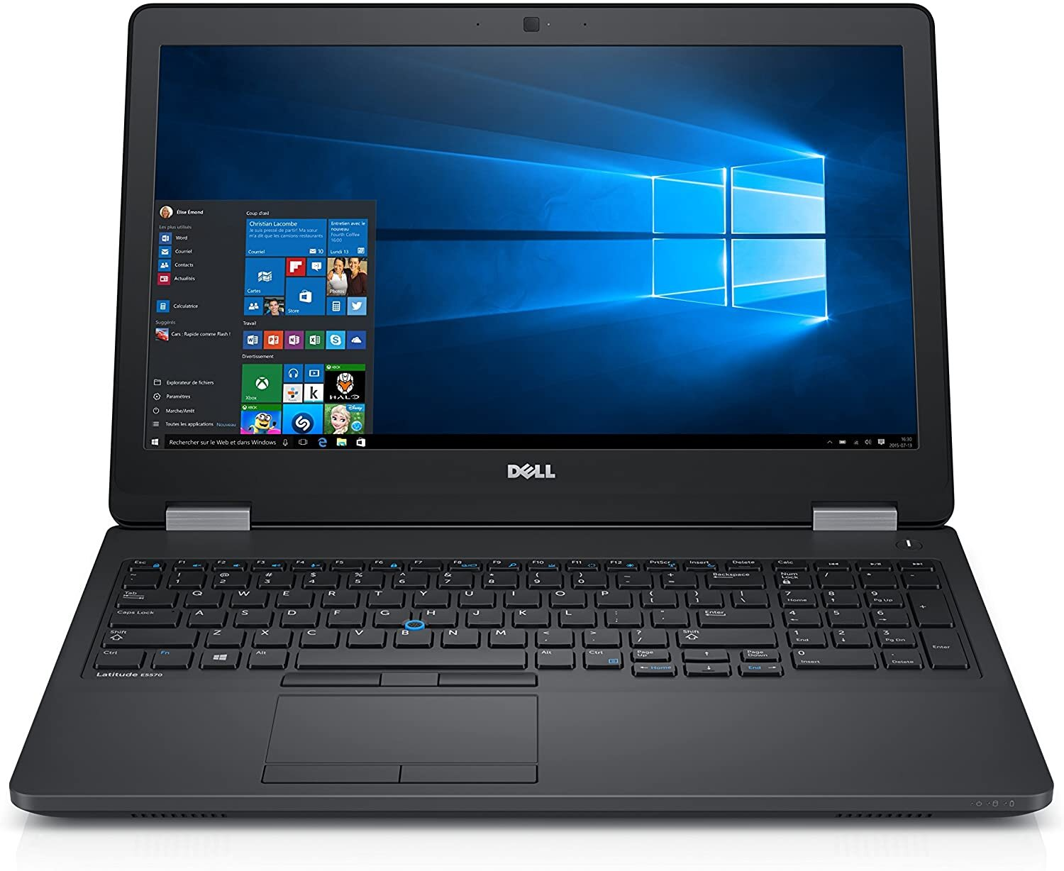 DELL Latitude E5570 I5-6440HQ 16GB 500GB Win10 PRO