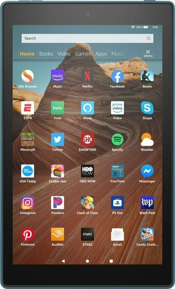 "Amazon Fire HD 10"", 32GB, Wi-fi (be LT kalbos), Twilight Blue"