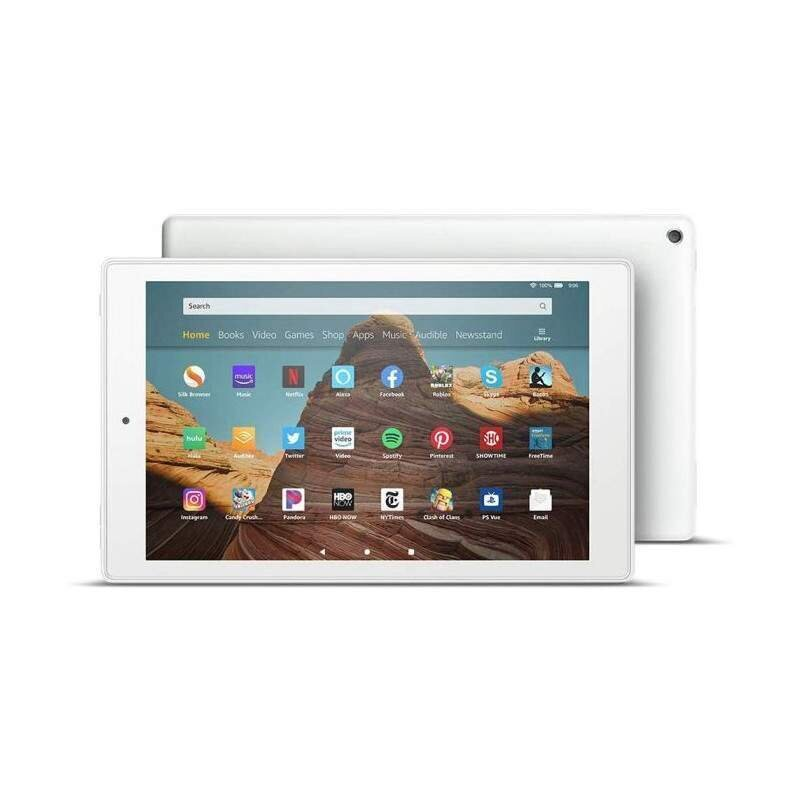 "Amazon Fire HD 10"", 32GB, Wi-fi (be LT kalbos), White"