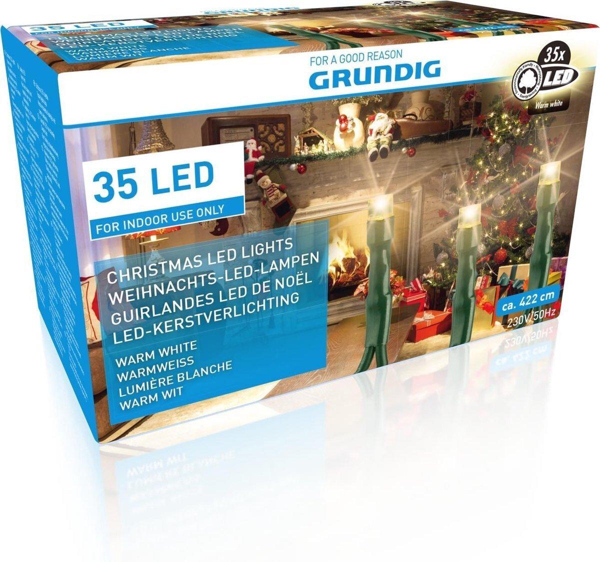 Grundig kalėdinė girlianda, 35 LED
