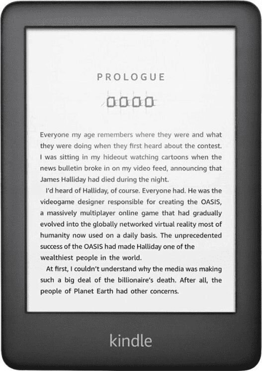 Amazon Kindle 10 2019 WiFi 8 GB, Juoda