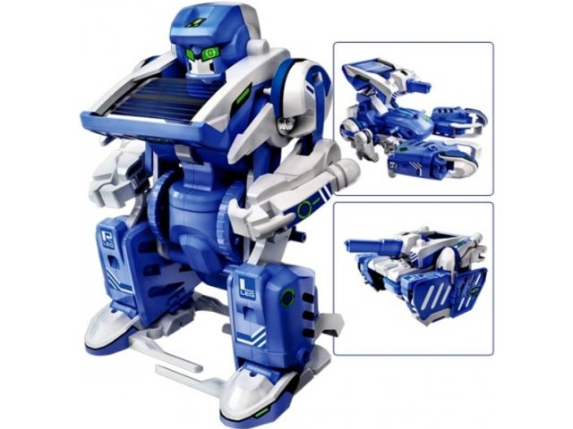 Robotas transformeris 3 in 1