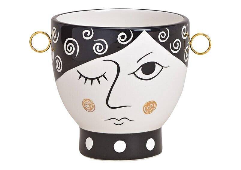 Keramikinis vazonas 17x13cm