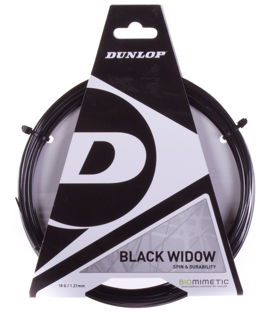 Stygos raketei Dunlop Black Widow