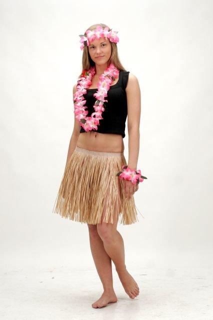 Havajietiškas sijonas 40 cm
