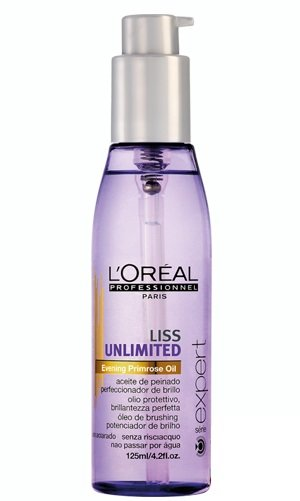 Aliejus nepaklusniems plaukams L'Oreal Professionnel Paris Serie Expert Liss Unlimited 125 ml