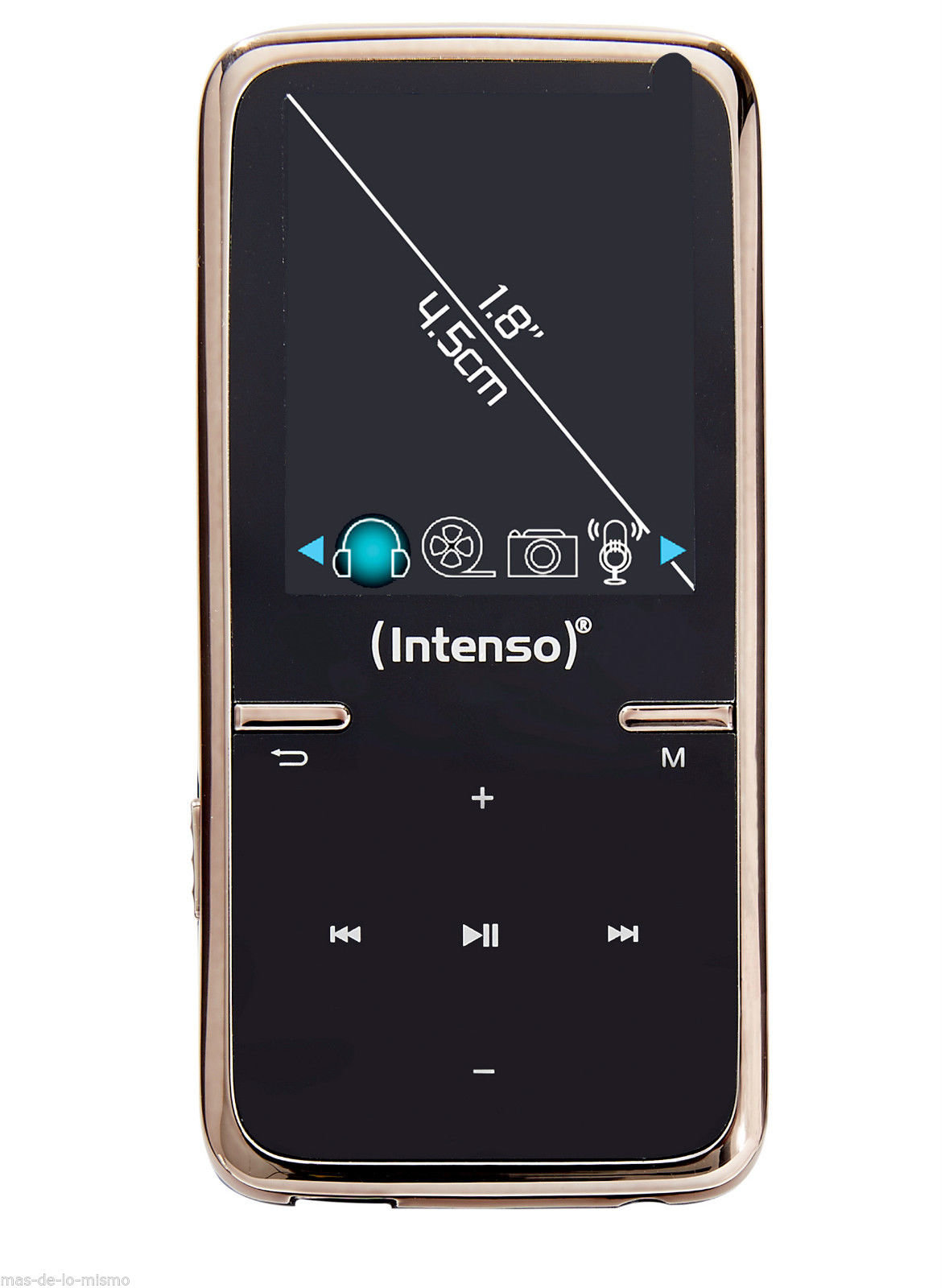 Intenso Video Scooter 1,8 8GB, Juodas