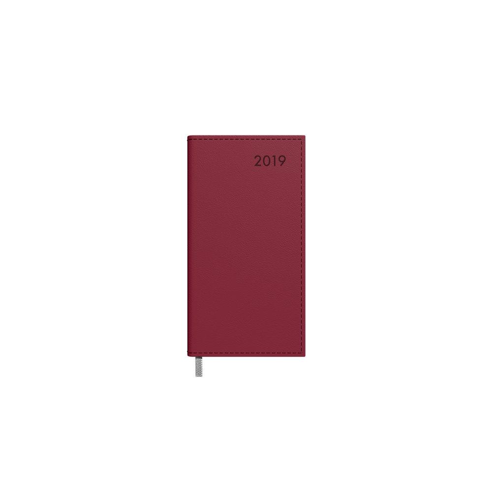 Kalendorius Timer Midi Baladek 2019 metai 2417513004 bordo