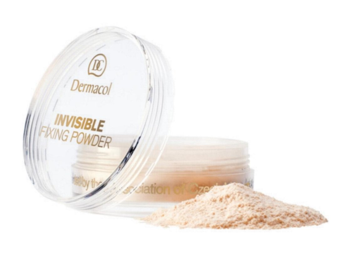 Biri pudra Dermacol Invisible Fixing Powder Natural 13 g