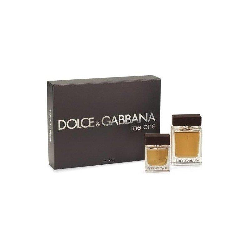 Rinkinys Dolce & Gabbana The One: EDT vyrams 100 ml + EDT vyrams 30 ml