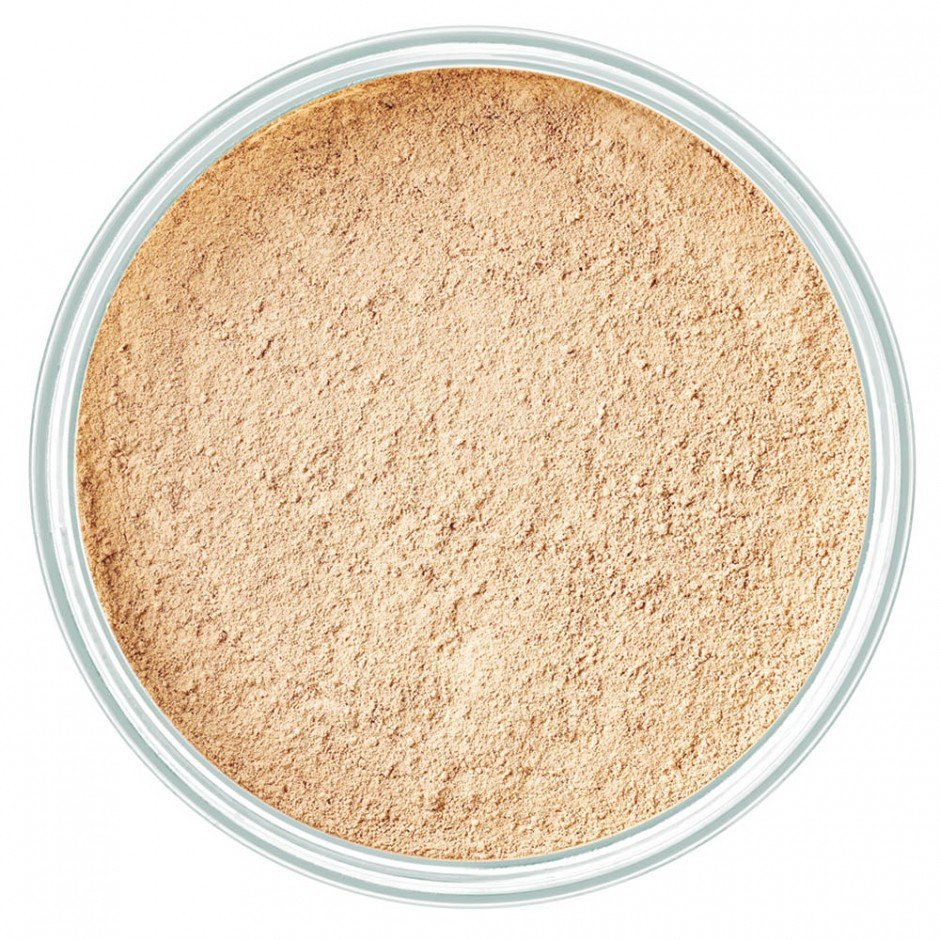 Biri pudra Artdeco Mineral Powder Number 4, Light Beige 15 g