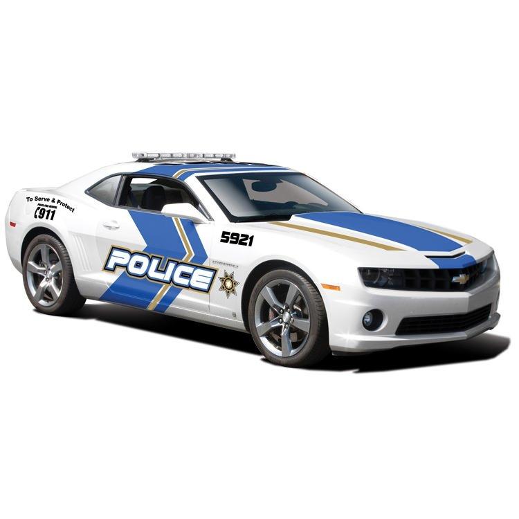 Automodelis MAISTO Die Cast Chevrolet Camaro SS RS Police 2010, 1:24 , 31208
