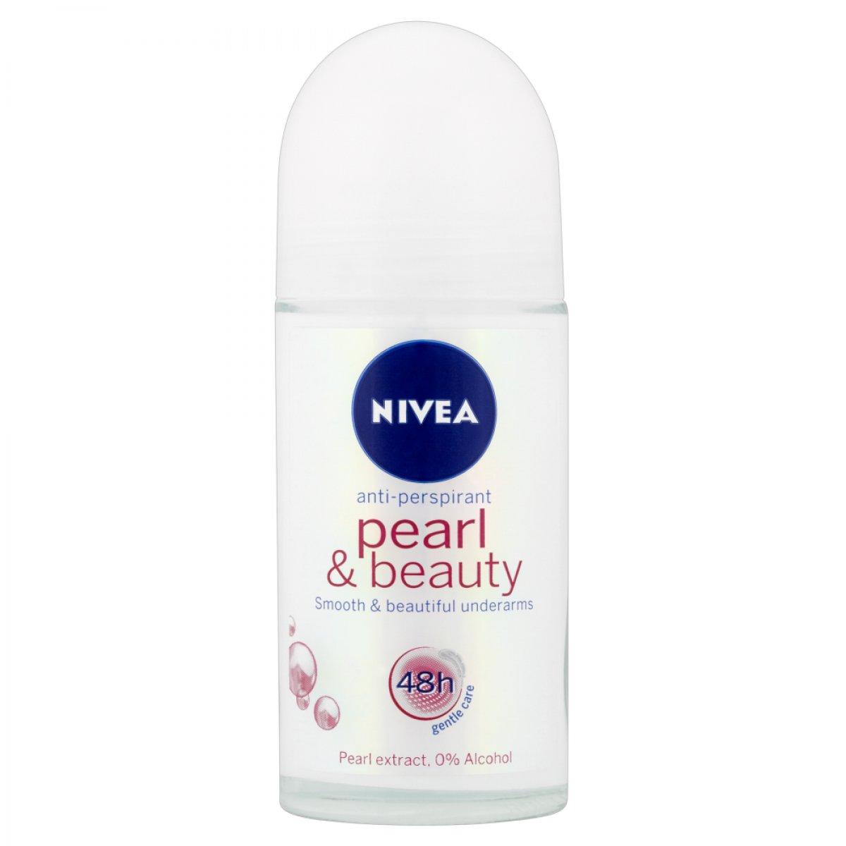 Rutulinis dezodorantas Nivea Pearl & Beauty 48h 50 ml