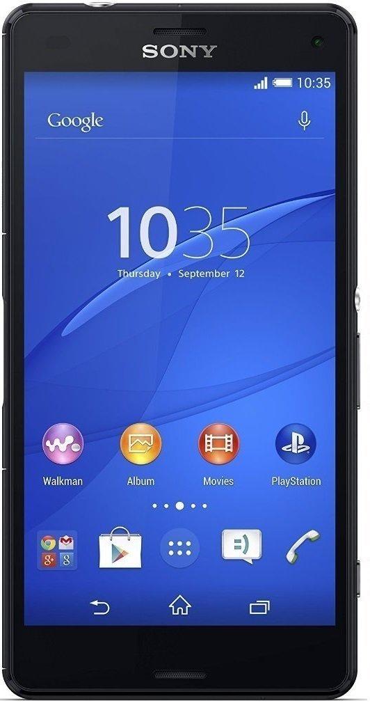 Sony Xperia Z3 (D6603), Juoda