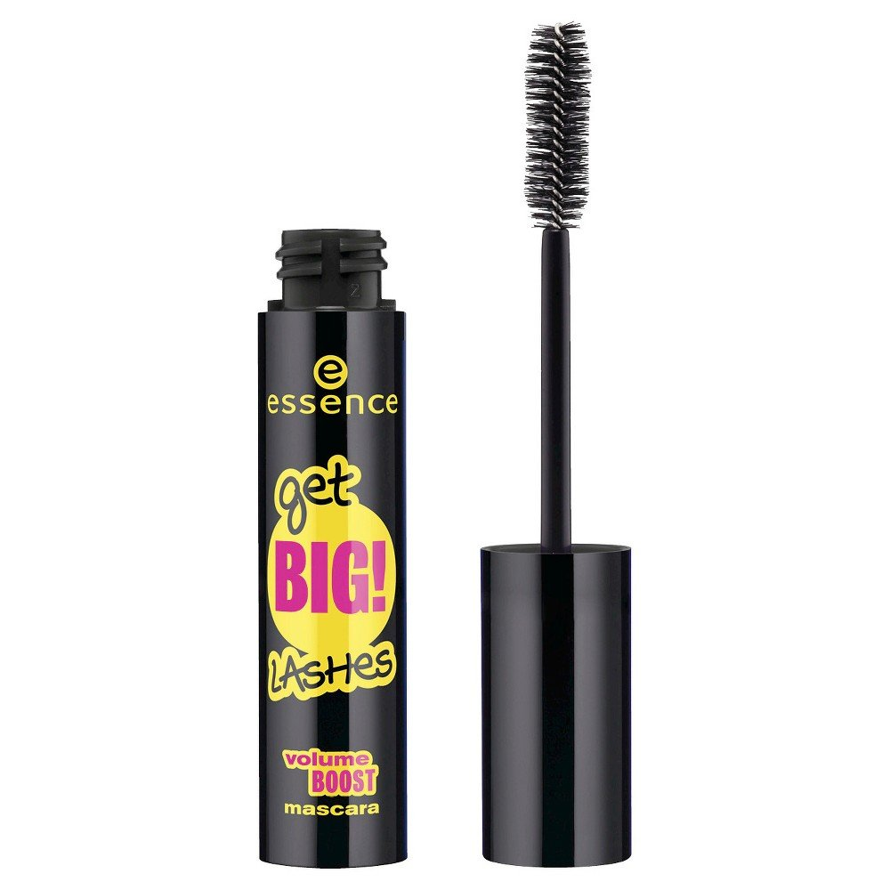 Blakstienų tušas Essence Get Big! Lashes Volume Boost 12 ml, Black