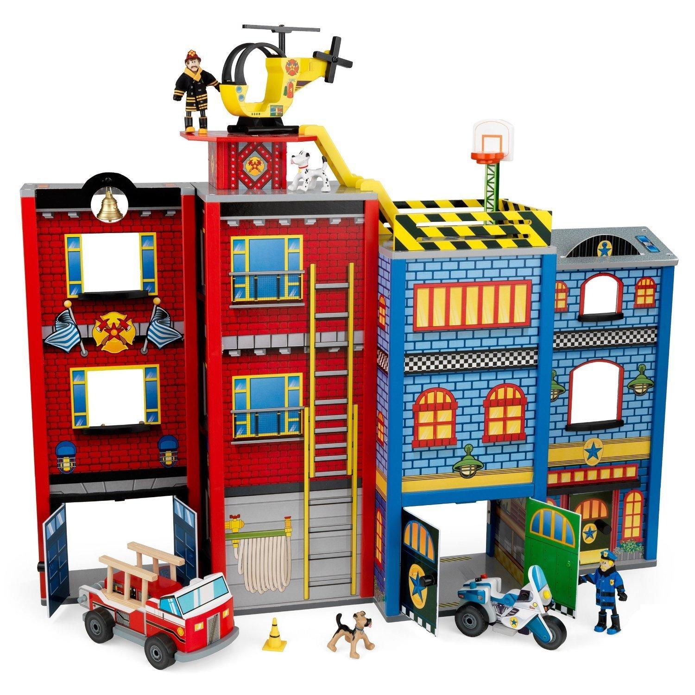 """Žaidimų namelis Kidkraft """"Herojų namas"""" 63239"""