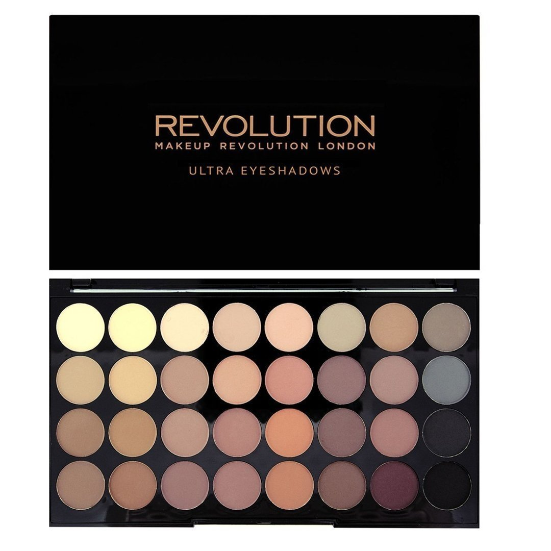 Akių šešėlių paletė Makeup Revolution London Flawless Matte 16 g