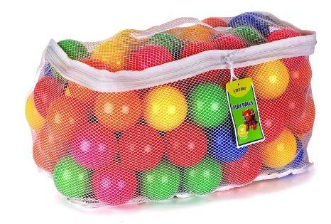 Plastikiniai kamuoliukai Paradiso, 100 vnt, T02839