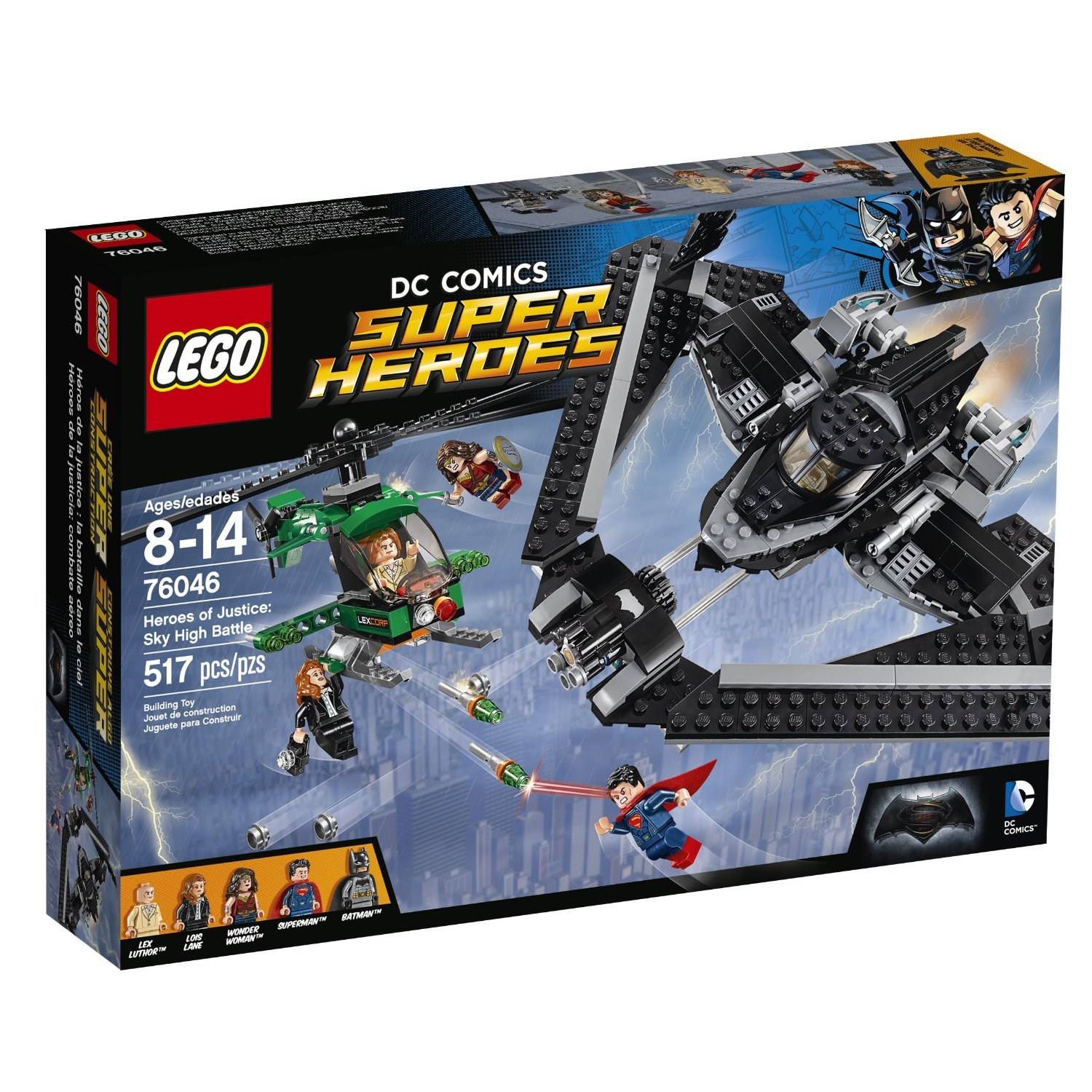 76046 LEGO® SUPER HEROES Heroes of Justice: Sky High Battle
