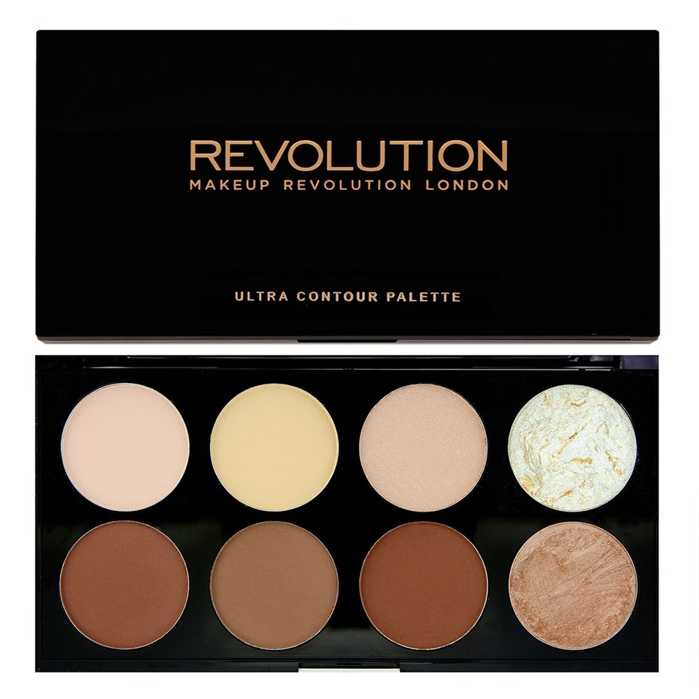 Veido kontūravimo paletė Makeup Revolution London Ultra 13 g