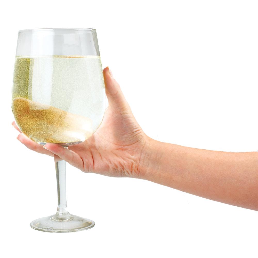 Gigantiška vyno taurė