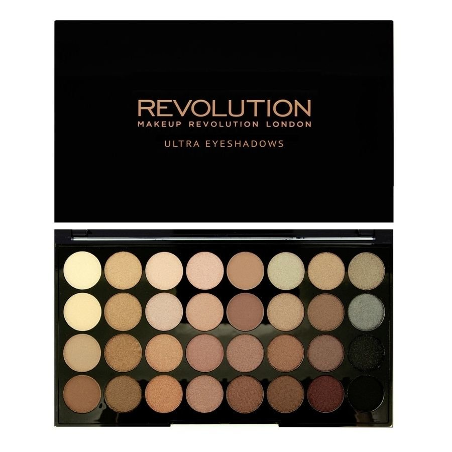 Akių šešėlių paletė Makeup Revolution London Ultra 32 Shade Beyond Flawless 16 g